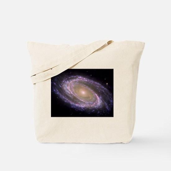 Spiral galaxy NASA image Tote Bag