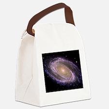 Spiral galaxy NASA image Canvas Lunch Bag