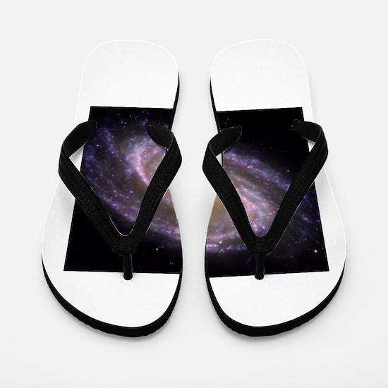 Spiral galaxy NASA image Flip Flops