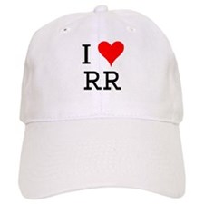 I Love RR Baseball Cap