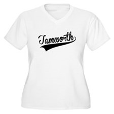 Tamworth, Retro, Plus Size T-Shirt