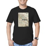Terminus Map Men's Fitted T-Shirt