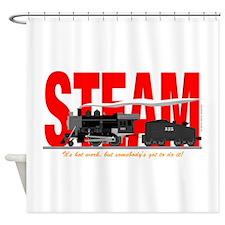 Steam Logo Shower Curtain