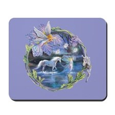 Unicorn Dreaming Mousepad