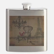 modern chandelier paris eiffel tower Flask
