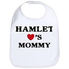 Hamlet loves mommy Bib