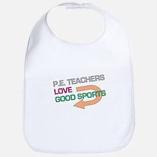 P.E. Teachers Good Sports Bib