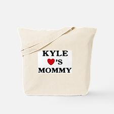 Kyle loves mommy Tote Bag