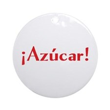 azucar Ornament (Round)