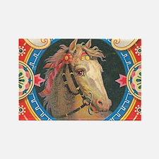 vintage horse Magnets