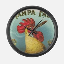 rooster Large Wall Clock