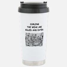 CURLING3 Travel Mug