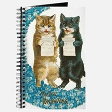 funny singing cats Journal
