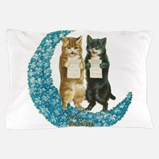 funny singing cats Pillow Case