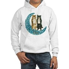 funny singing cats Hoodie