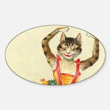 cat ballerina Decal