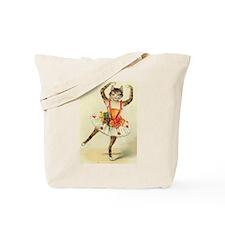 cat ballerina Tote Bag