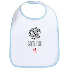 Dragon + Samurai Bib