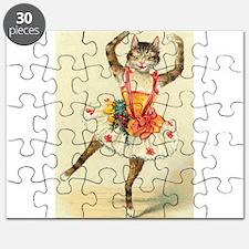 cat ballerina Puzzle