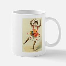 cat ballerina Mugs