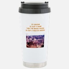 CURLING2 Travel Mug