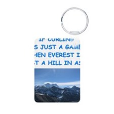 CURLING4 Keychains