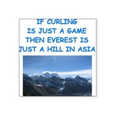 CURLING4 Sticker