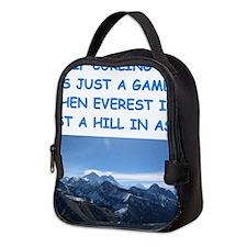 CURLING4 Neoprene Lunch Bag