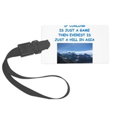 CURLING4 Luggage Tag