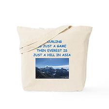 CURLING4 Tote Bag