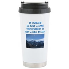 CURLING4 Travel Mug