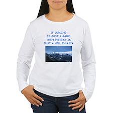 CURLING4 Long Sleeve T-Shirt