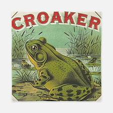 funny frog picture Queen Duvet