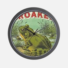 funny frog picture Wall Clock