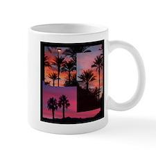 DESERT SUNSET COLLAGE Mugs