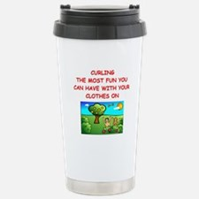 CURLING Travel Mug