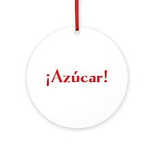azucar Ornament (Round)
