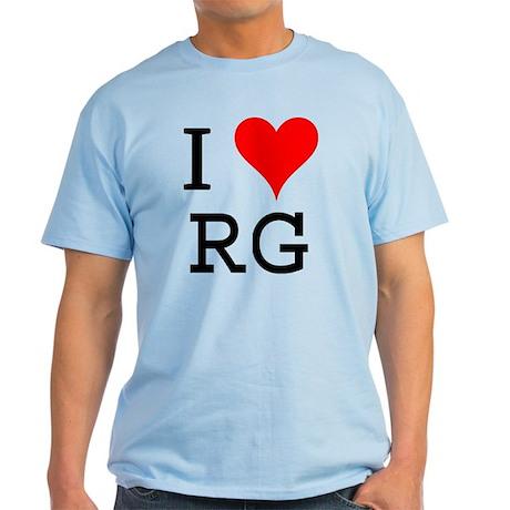 I Love RG Light T-Shirt