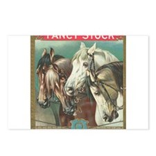 vintage horses Postcards (Package of 8)