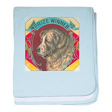 vintage dog baby blanket