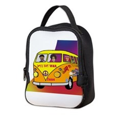Hippies on the Road Neoprene Lunch Bag