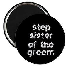 Step Sister of the Groom Black Magnet