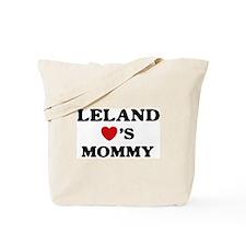 Leland loves mommy Tote Bag