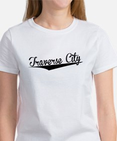 Traverse City, Retro, T-Shirt