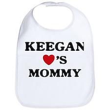 Keegan loves mommy Bib