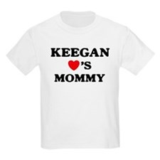 Keegan loves mommy T-Shirt