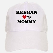 Keegan loves mommy Baseball Baseball Cap