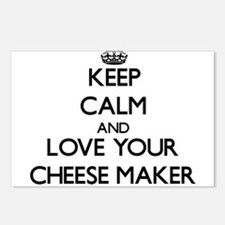 Keep Calm and Love your Cheese Maker Postcards (Pa