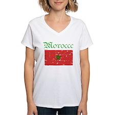 Moroccan grunge flag Shirt