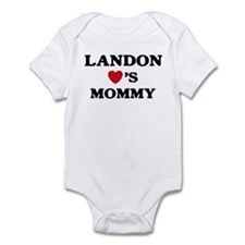 Landon loves mommy Infant Bodysuit